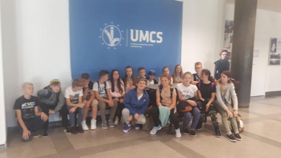 Pokazy chemiczne na UMCS w Lublinie