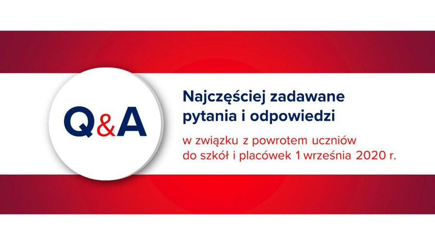 Powrót uczniów do szkół i placówek 1 września 2020 r.